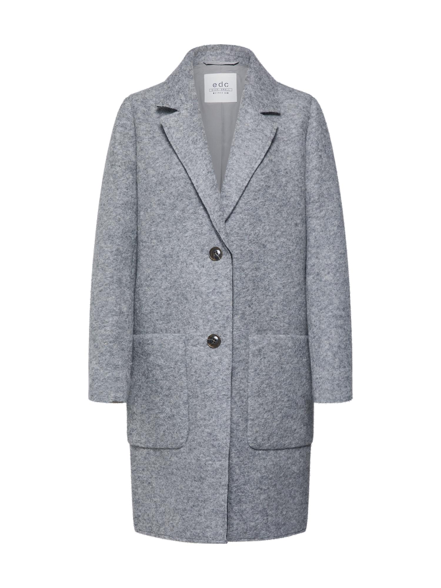 EDC BY ESPRIT Rudeninis-žieminis paltas šviesiai pilka
