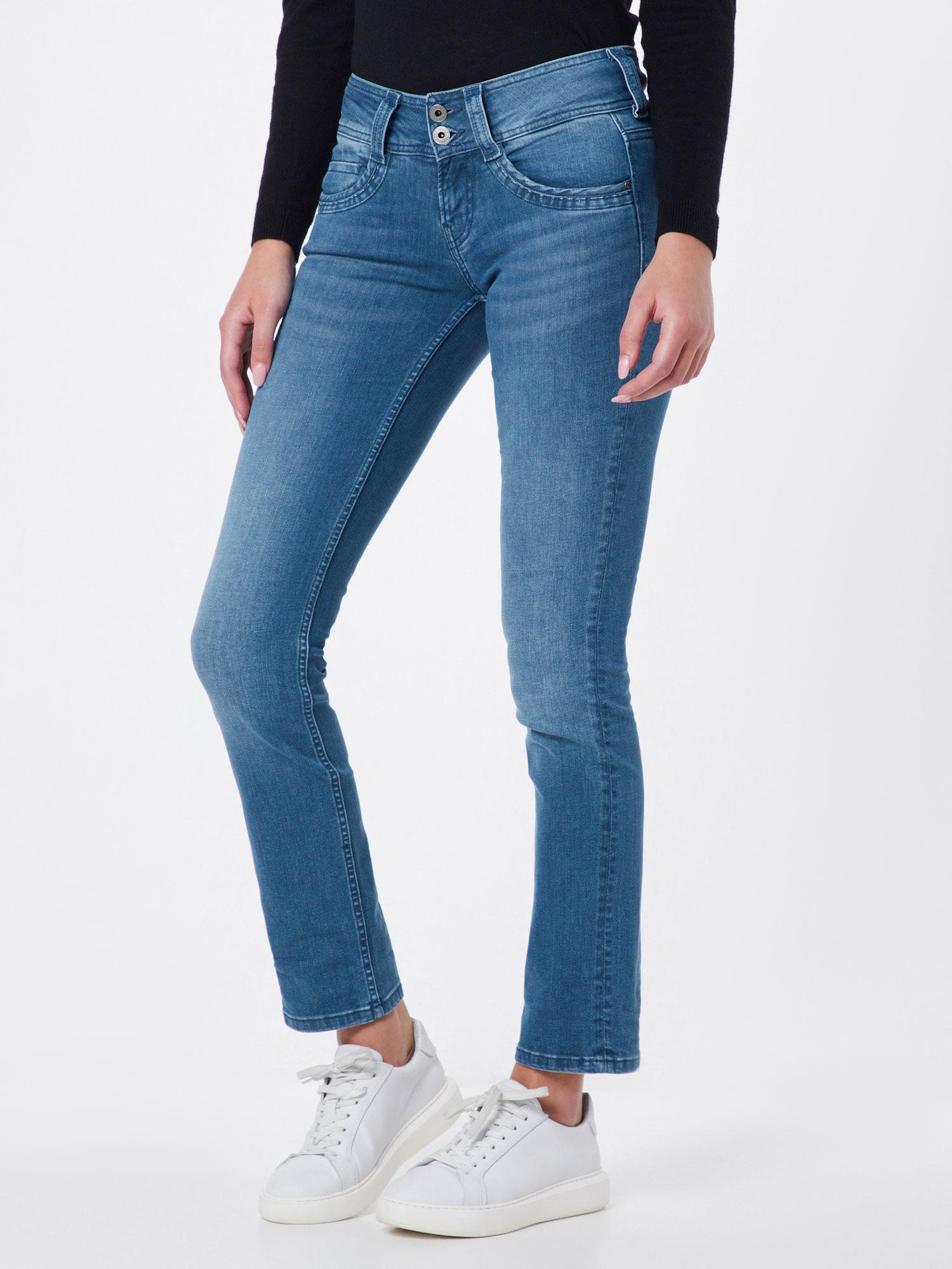 Pepe Jeans Jeans 'Gen Straight Leg'  blå denim