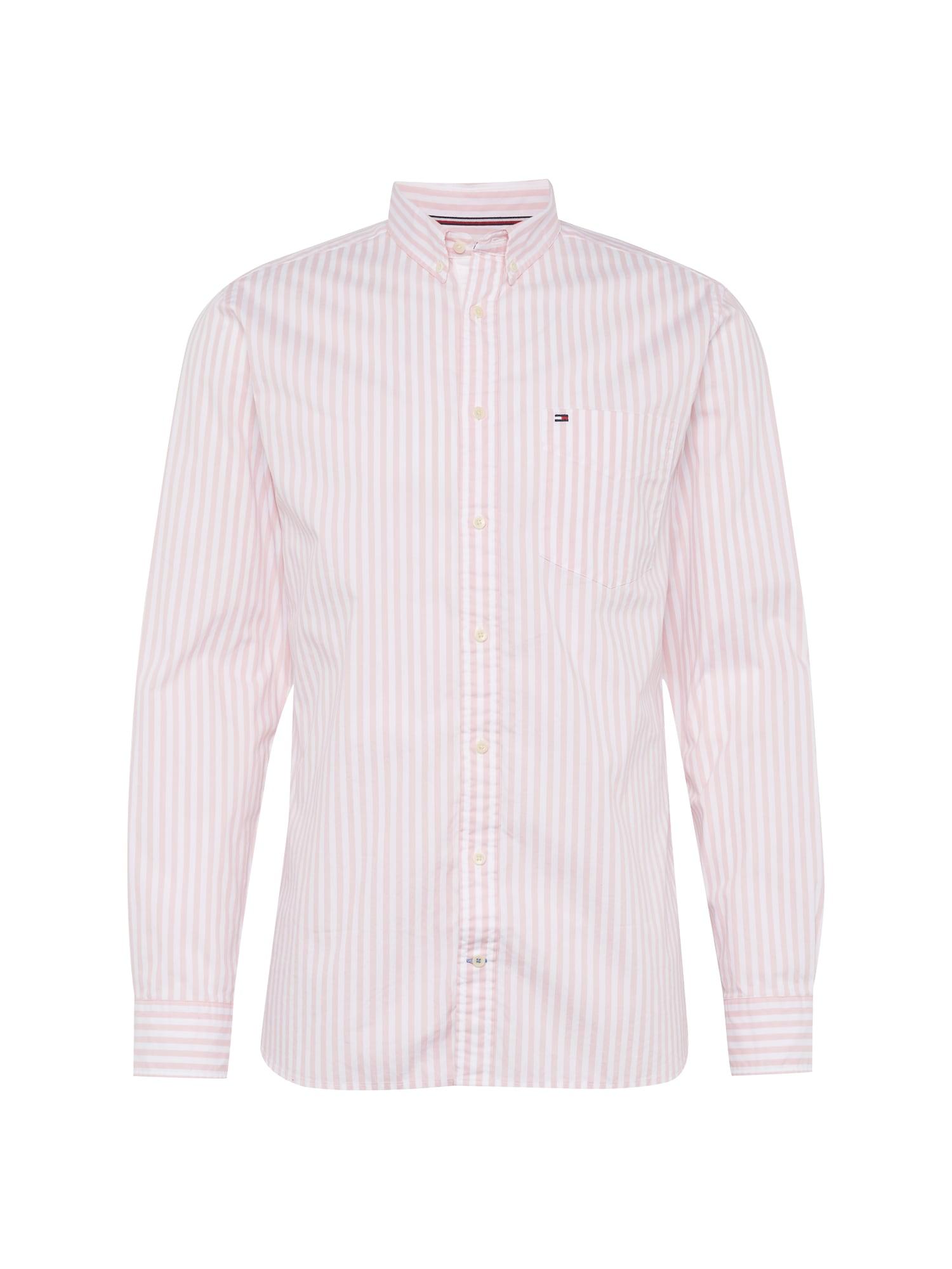 Košile růžová bílá TOMMY HILFIGER