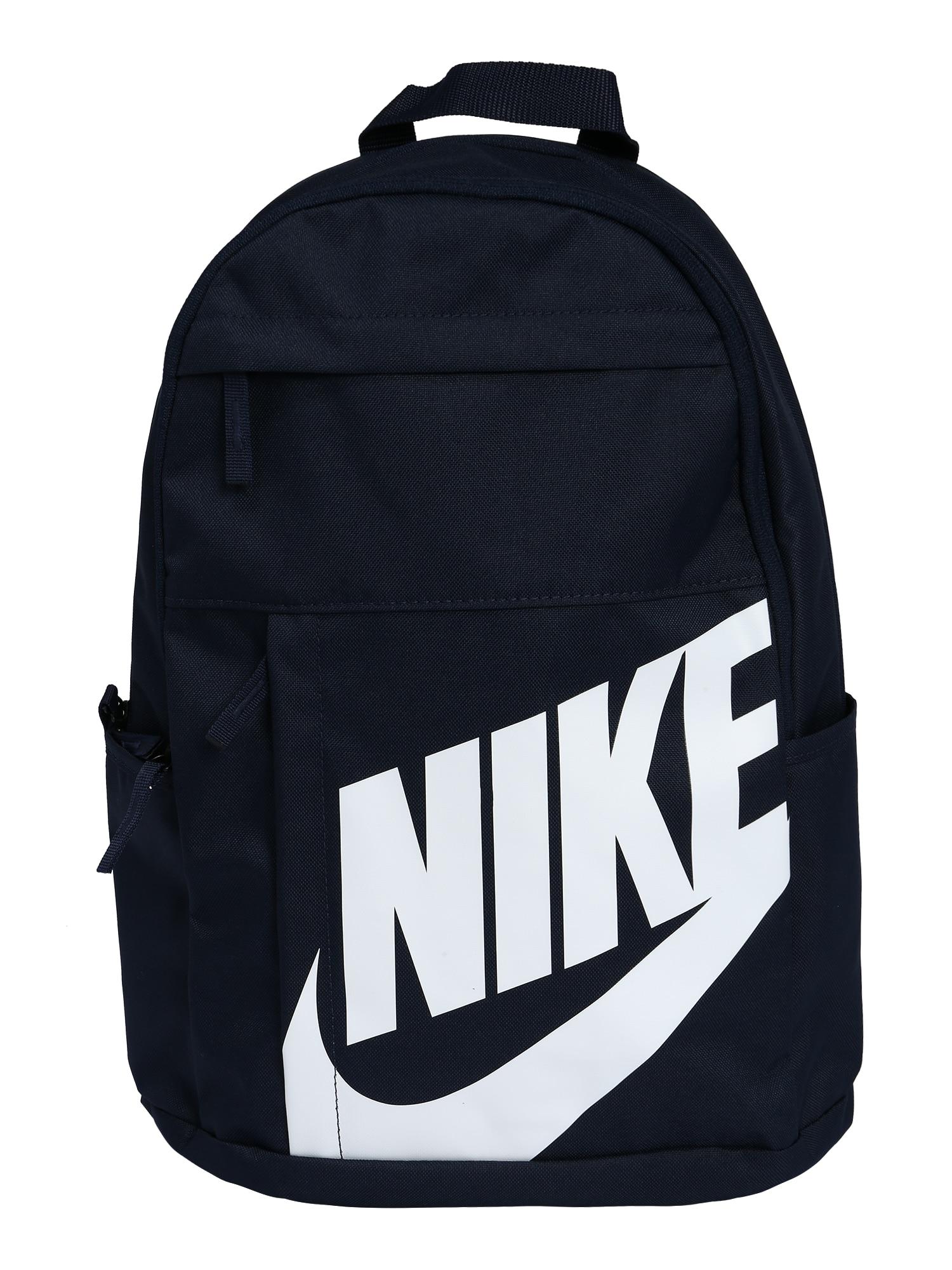 Nike Sportswear Batoh 'ELMNTL'  biela / čierna