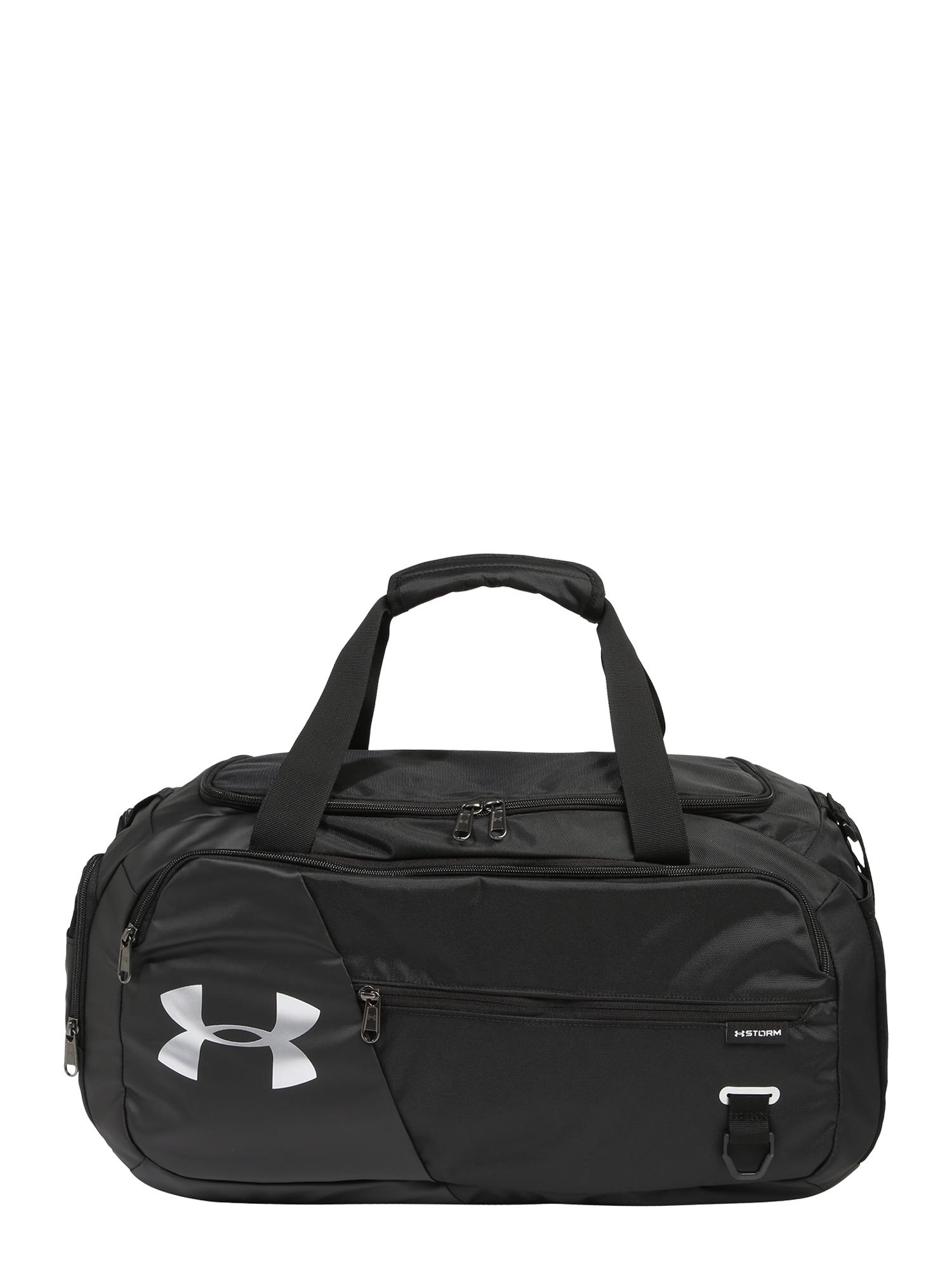 UNDER ARMOUR Sportinis krepšys 'Undeniable Duffel 4.0 SM' balta / antracito / juoda