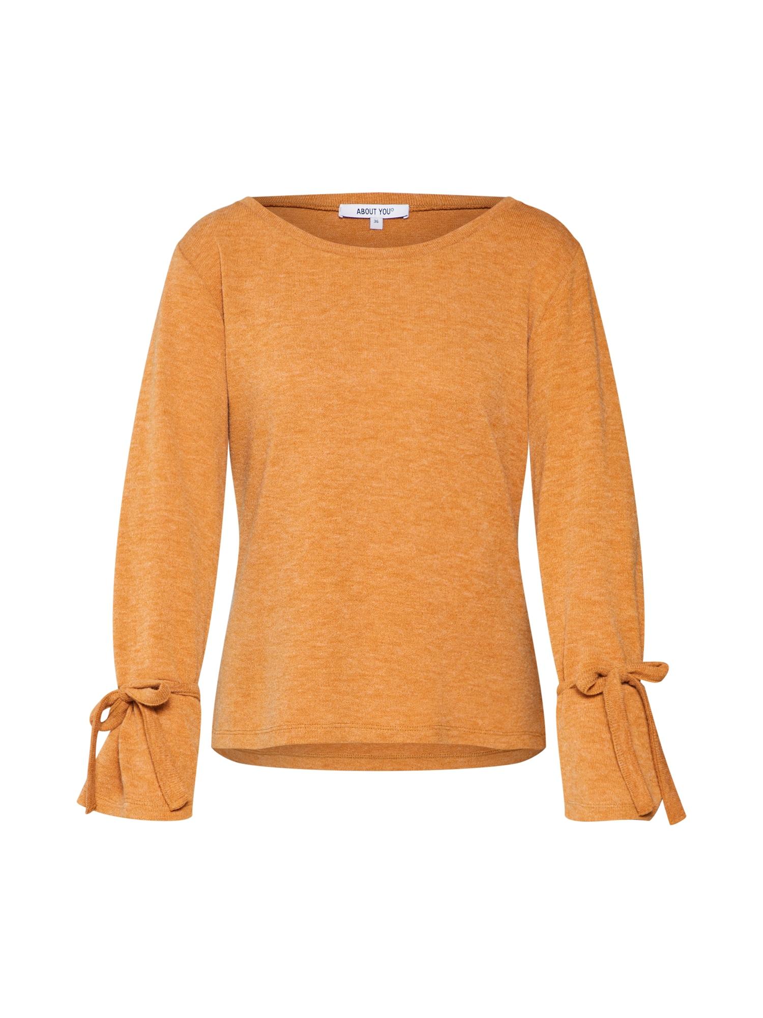 ABOUT YOU Megztinis 'Lavina' garstyčių spalva