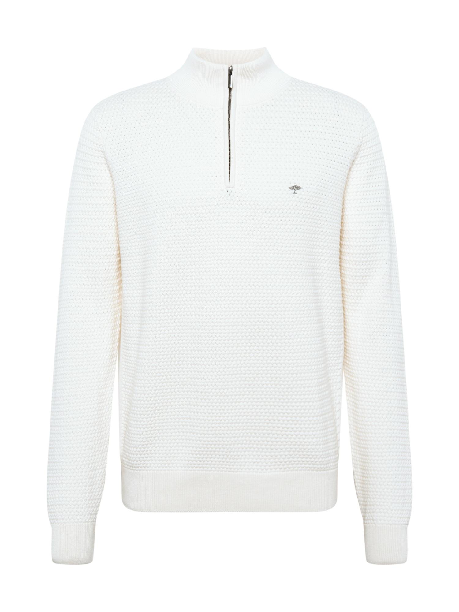 FYNCH-HATTON Megztinis natūrali balta