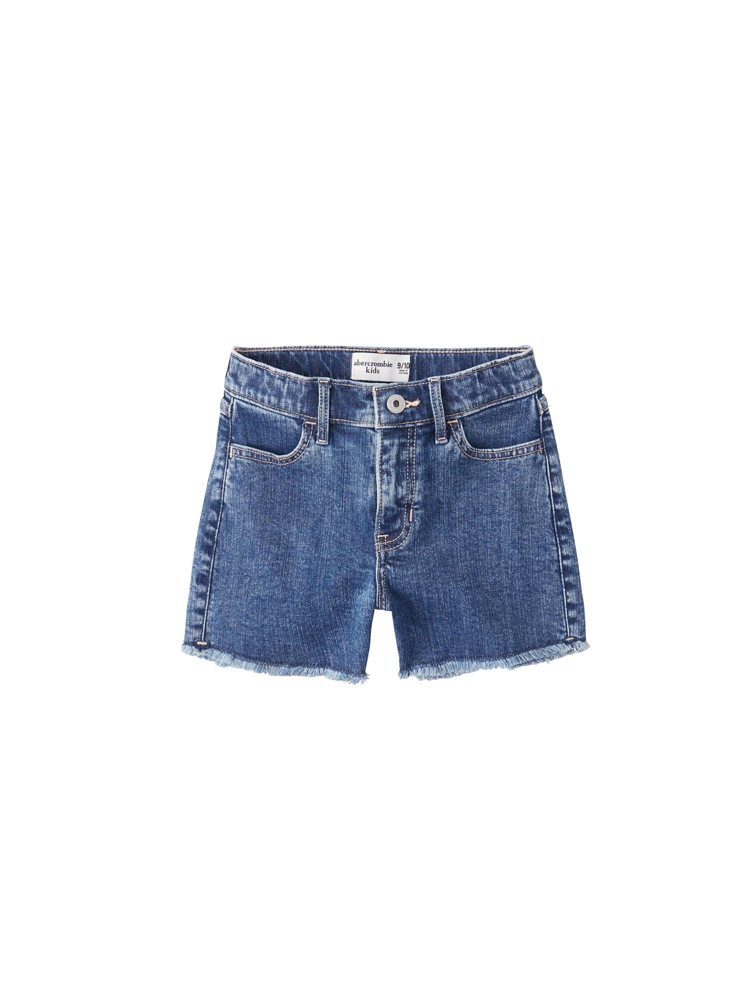 Abercrombie & Fitch Kelnės tamsiai (džinso) mėlyna