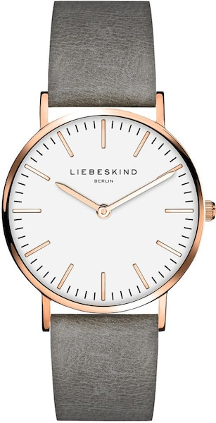 Uhren für Frauen - Liebeskind Berlin Quarzuhr 'New Case, LT 0085 LQ' rosegold grau  - Onlineshop ABOUT YOU