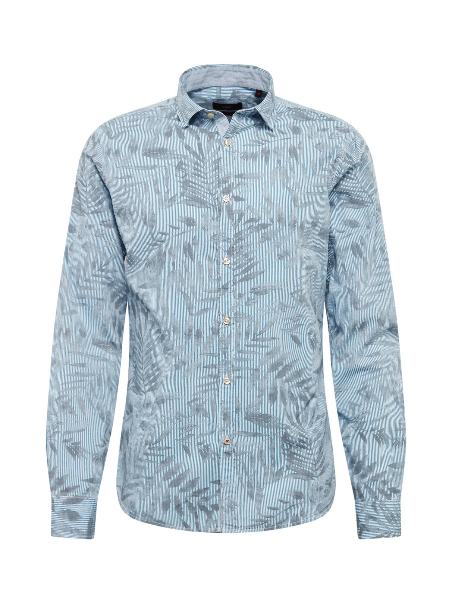 CINQUE Dalykiniai marškiniai 'Cispuky' balta / mėlyna