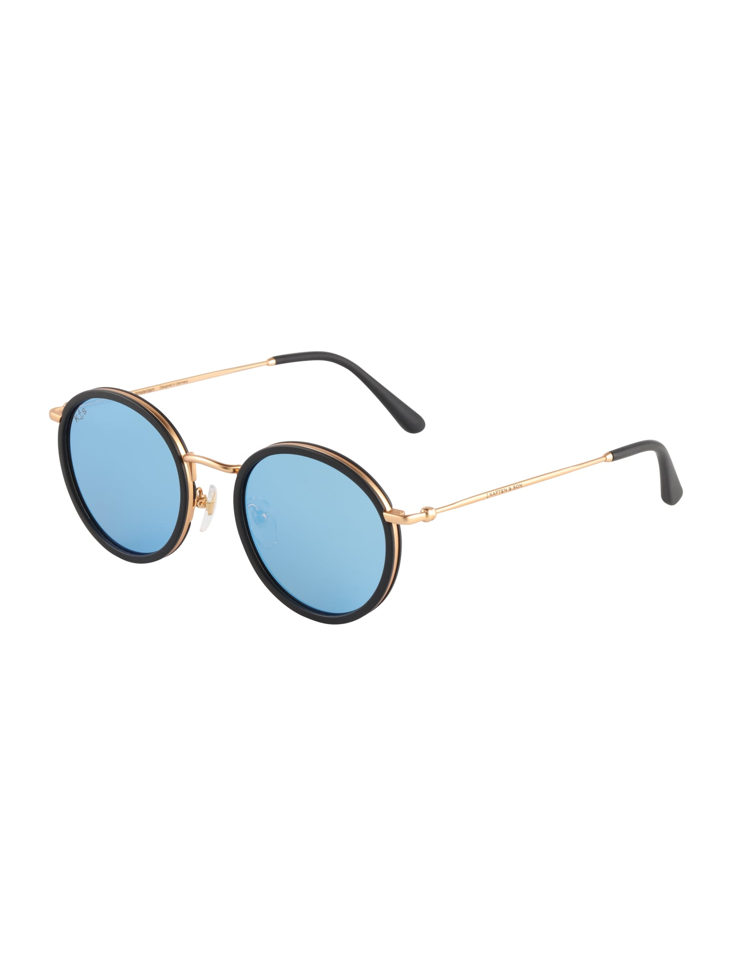 Kapten & Son Sluneční brýle 'Amsterdam'  modrá / černá
