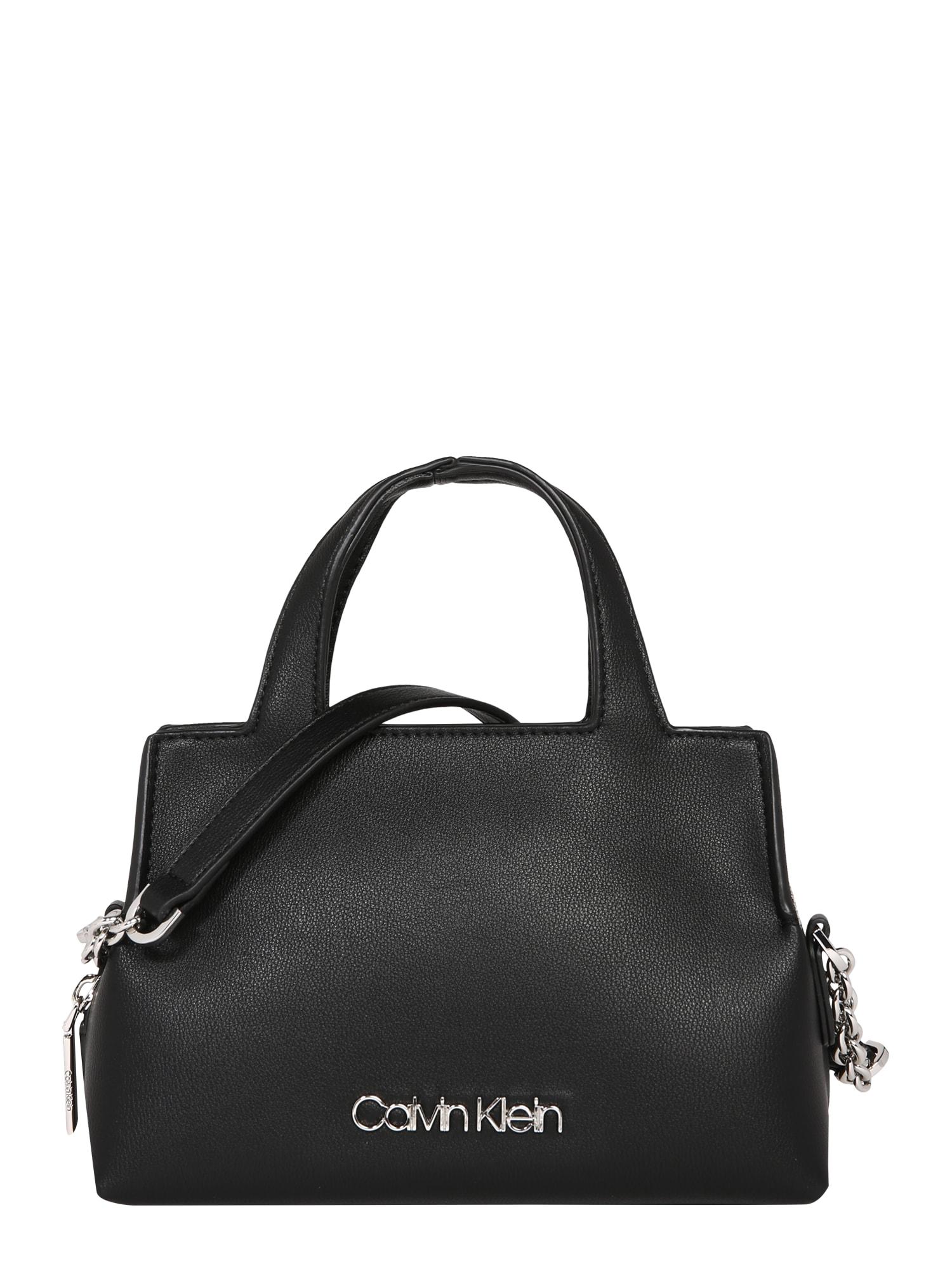 Calvin Klein Taška cez rameno 'NEAT TOTE MINI'  čierna