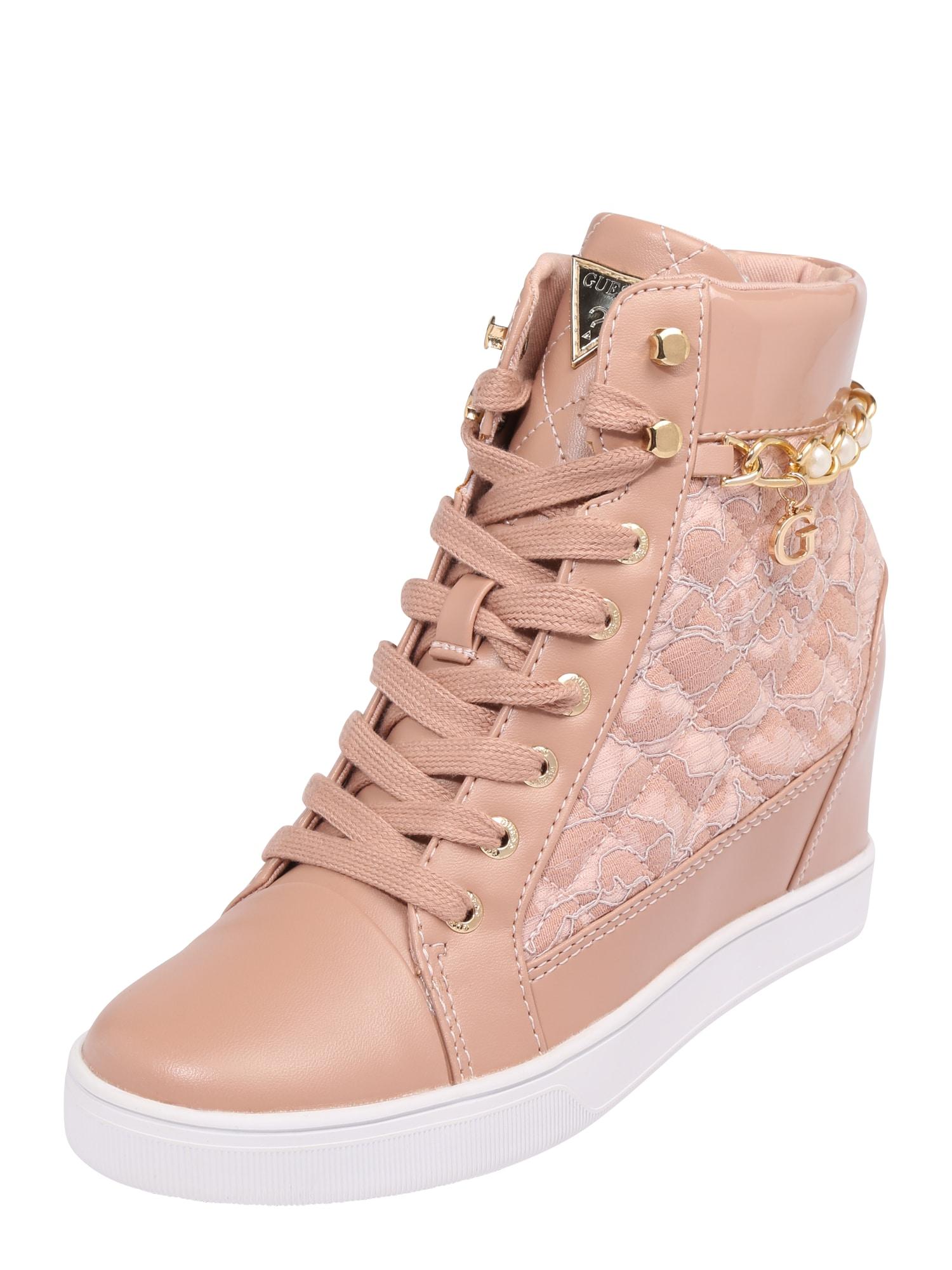 GUESS Damen Sneaker Active Lady rosa | 00190359695191