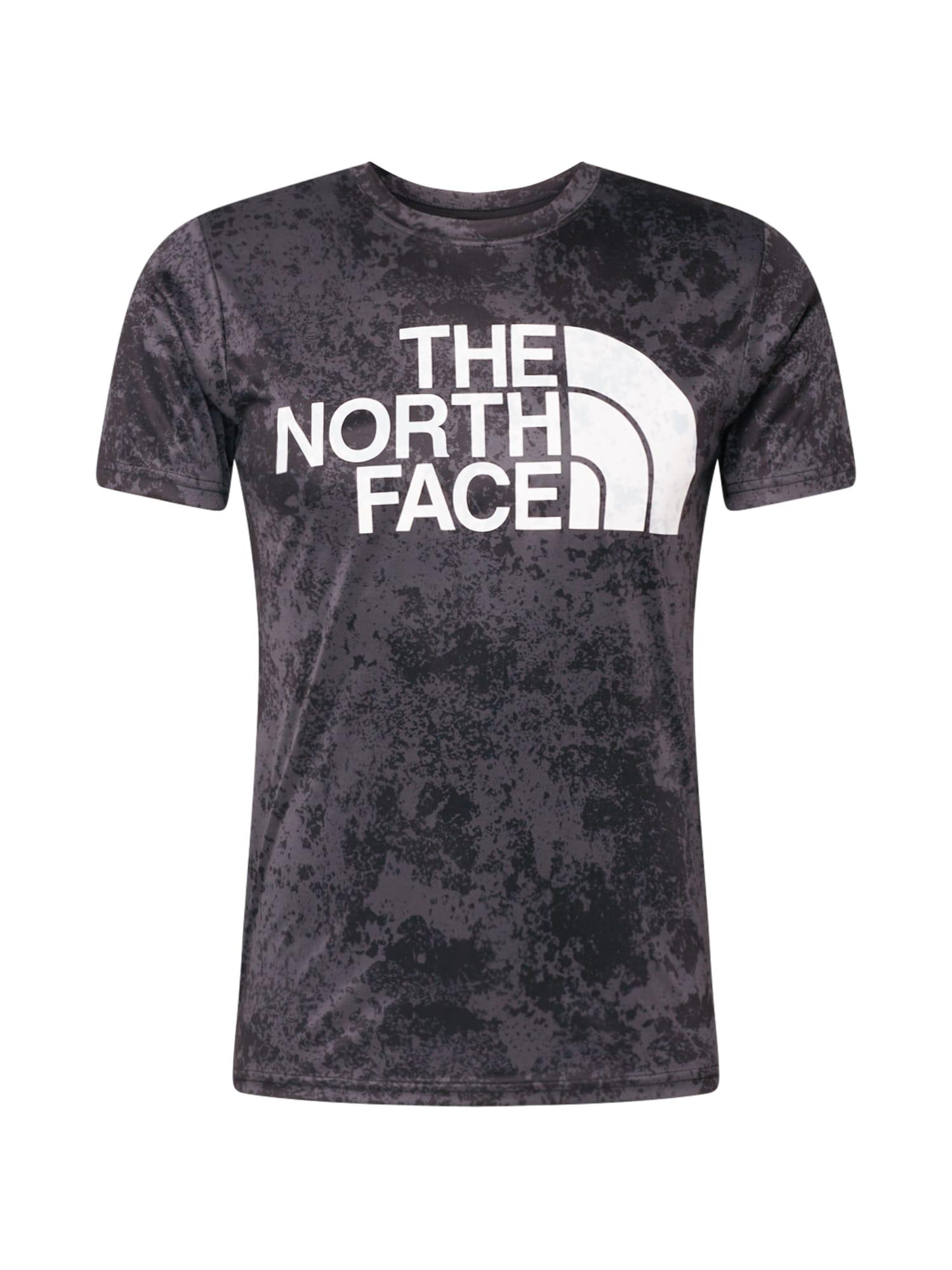 THE NORTH FACE Funkční tričko 'Reaxion'  bílá / tmavě šedá