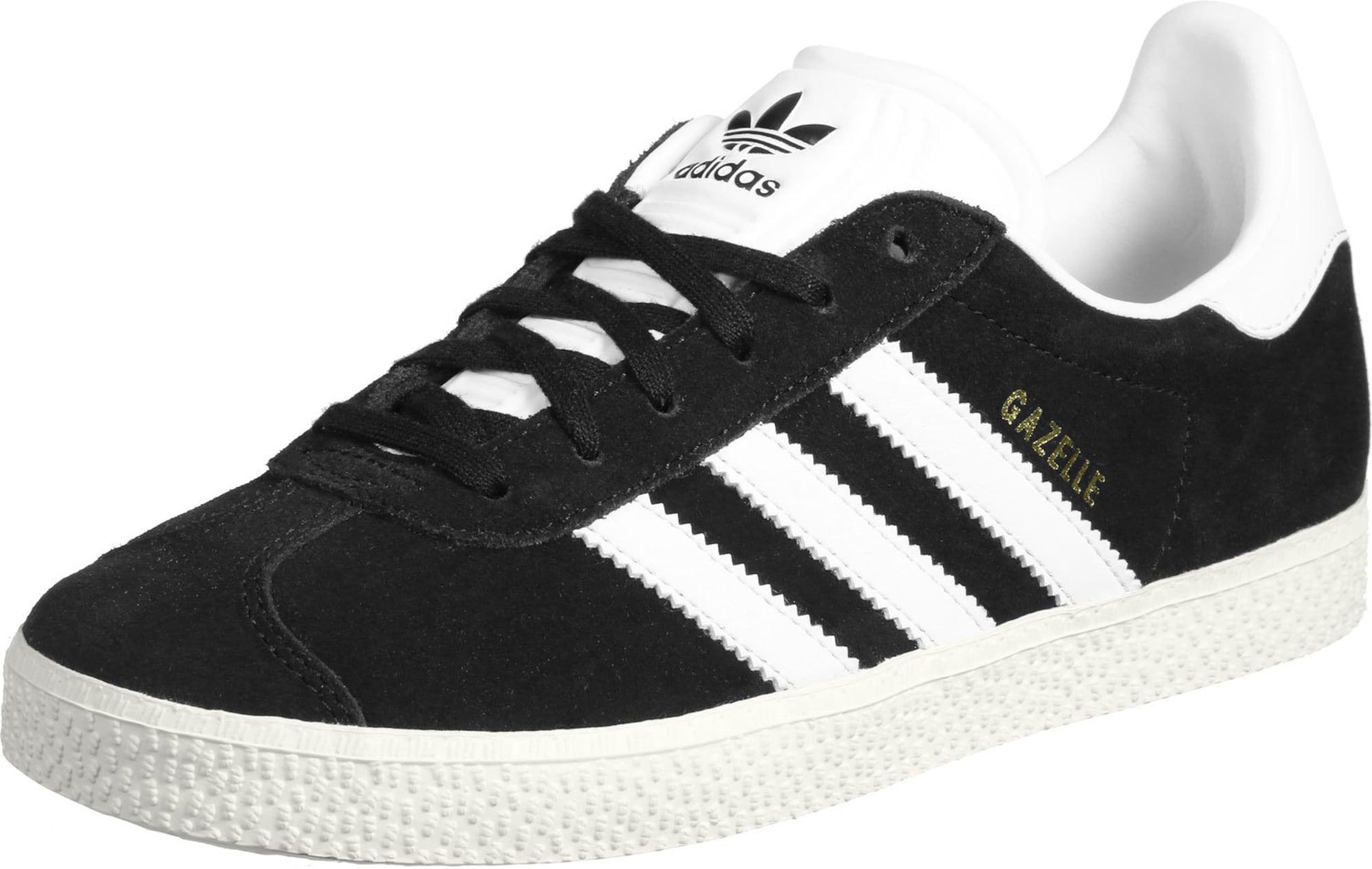 ADIDAS ORIGINALS Sportovní boty 'Gazelle'  bílá / černá