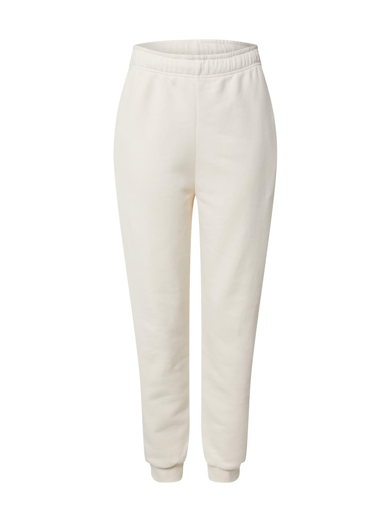 EDITED Kelnės 'Riley' margai balta