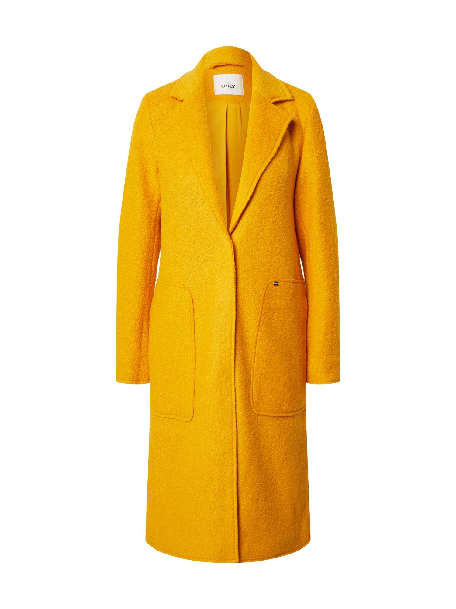 ONLY Přechodný kabát 'Stacy'  žlutá
