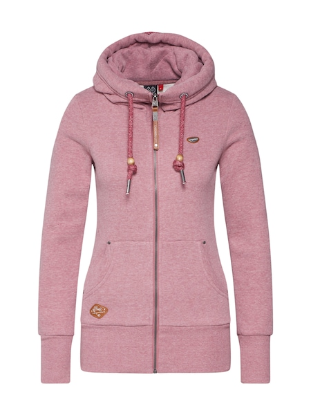 Jacken - Sweatjacke 'NESKA ZIP' › Ragwear › rosé  - Onlineshop ABOUT YOU