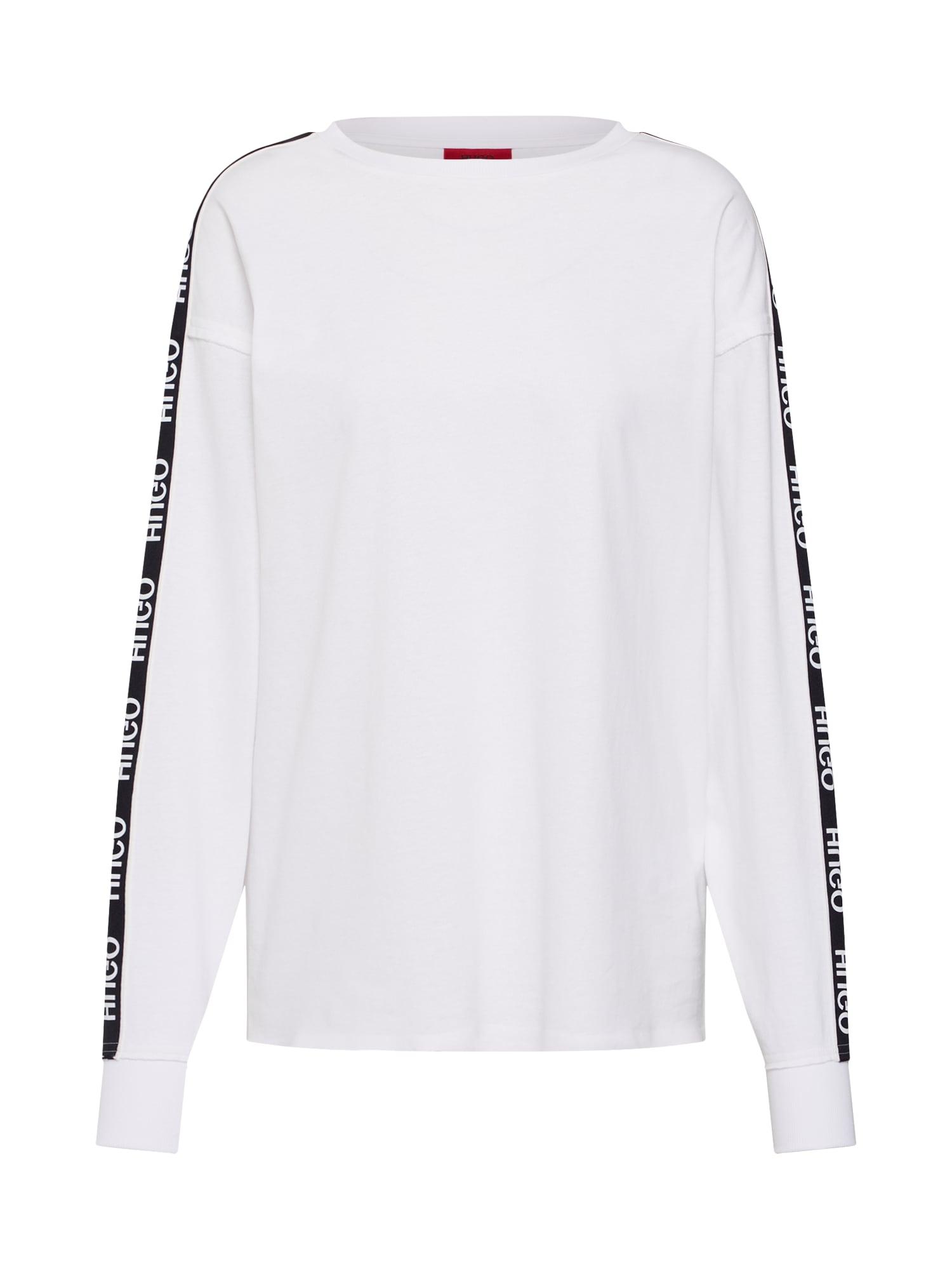 Tričko Doplia černá bílá HUGO