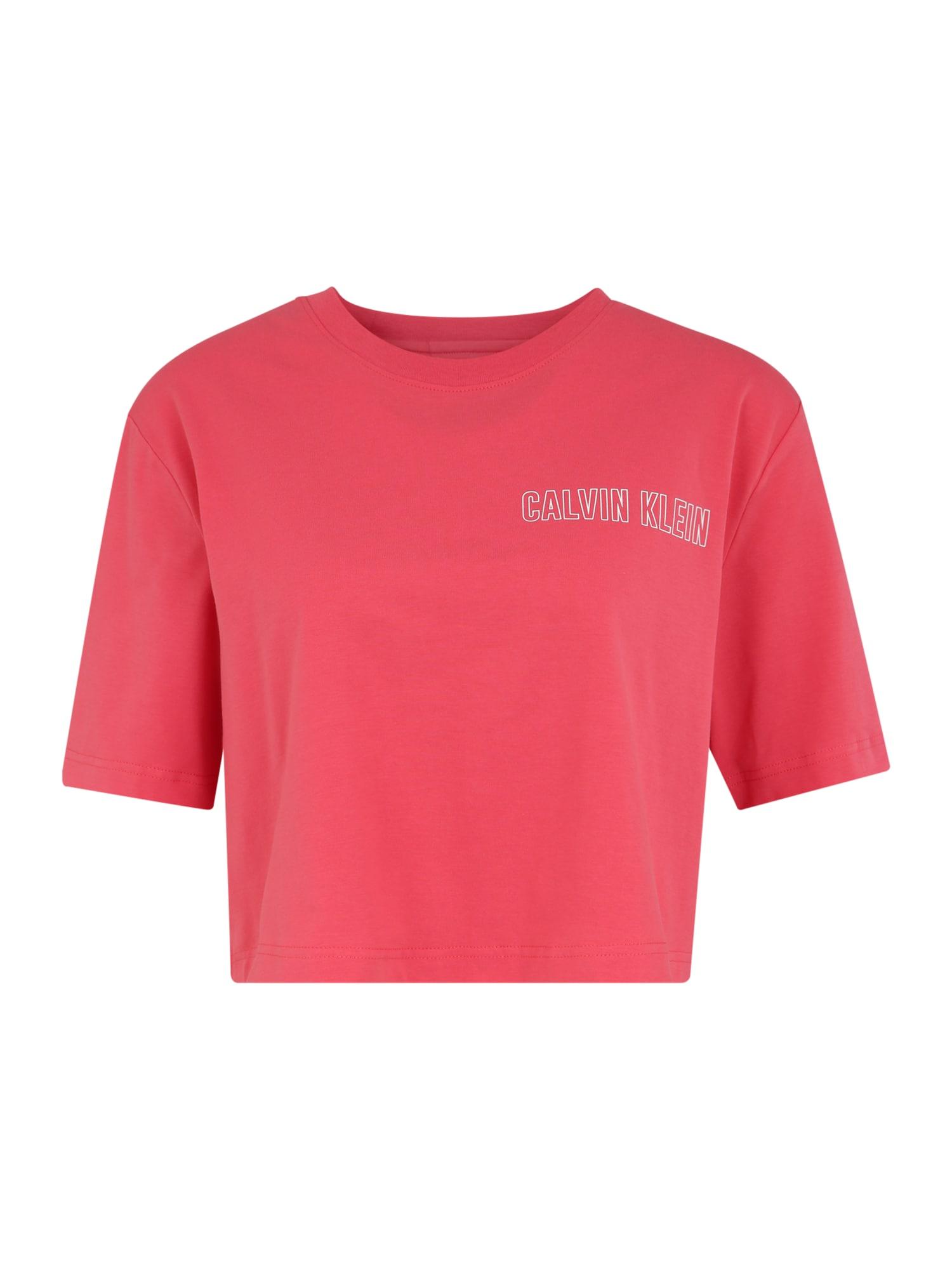Calvin Klein Performance Sportiniai marškinėliai raudona