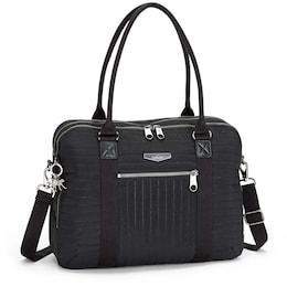 Damen Basic Plus Neat Schultertasche 39 cm Laptopfach schwarz   05400552563292