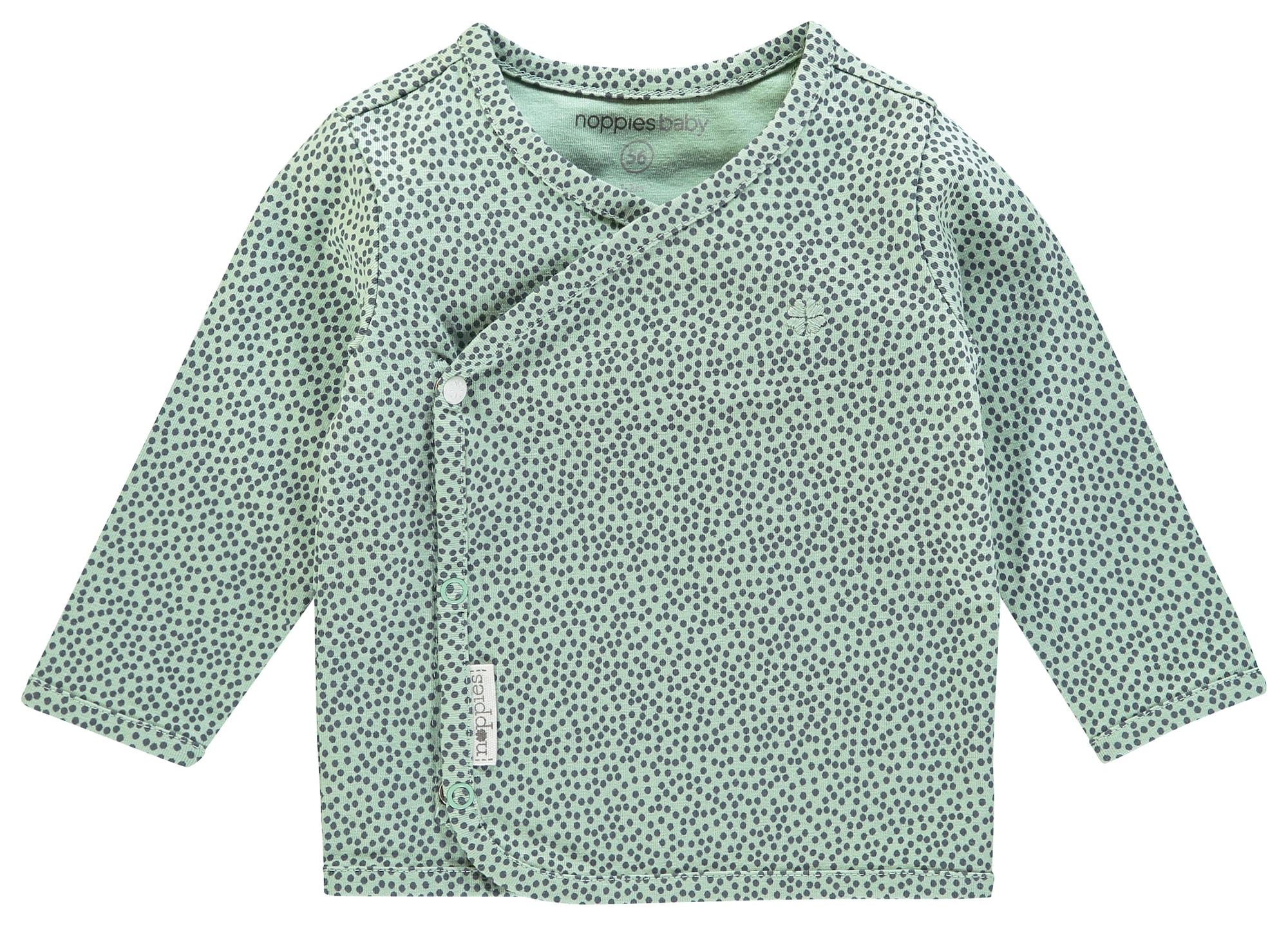 Noppies Marškinėliai 'Hannah' tamsiai žalia / mėtų spalva
