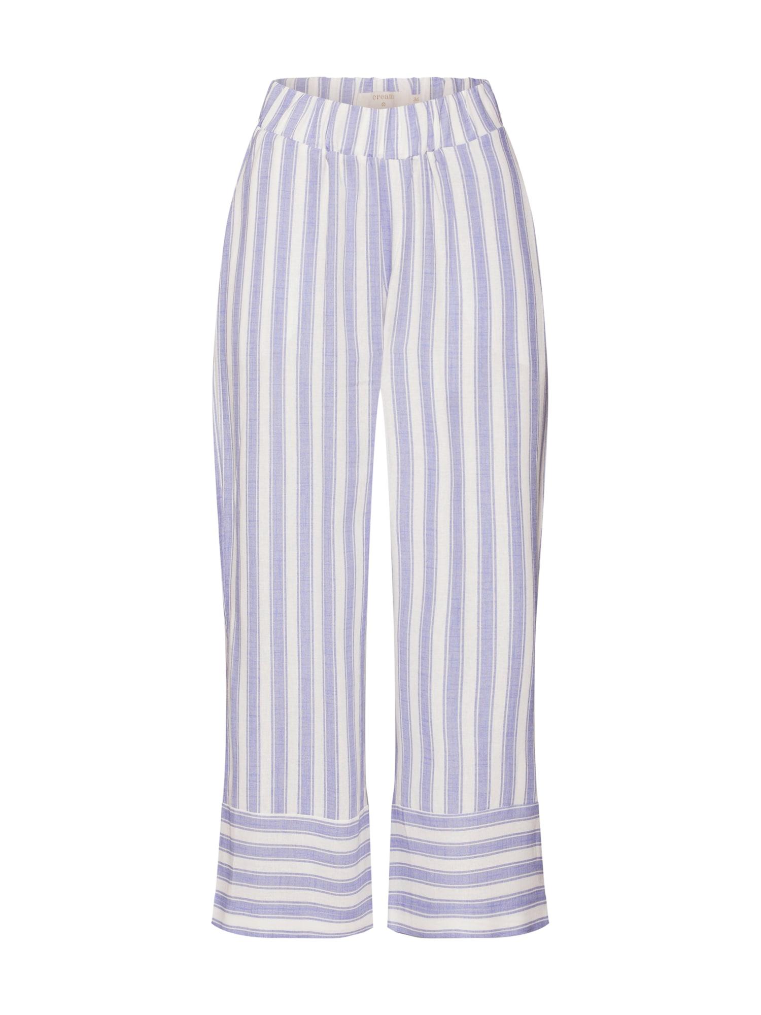 Cream Kelnės purpurinė / balta