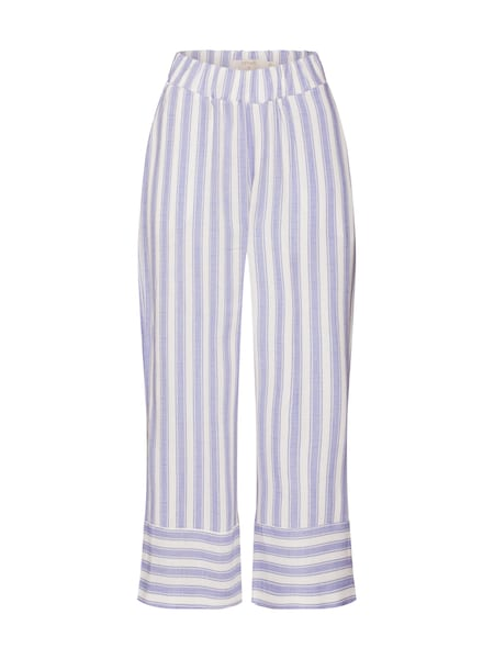 Hosen für Frauen - Hose › Cream › lila weiß  - Onlineshop ABOUT YOU