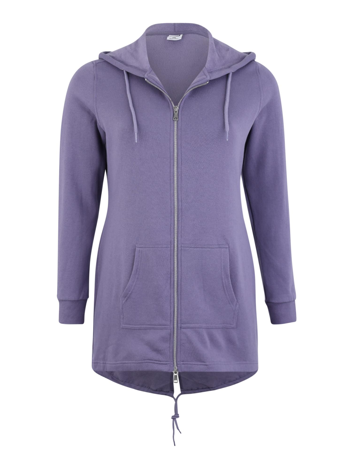 Urban Classics Curvy Džemperis purpurinė
