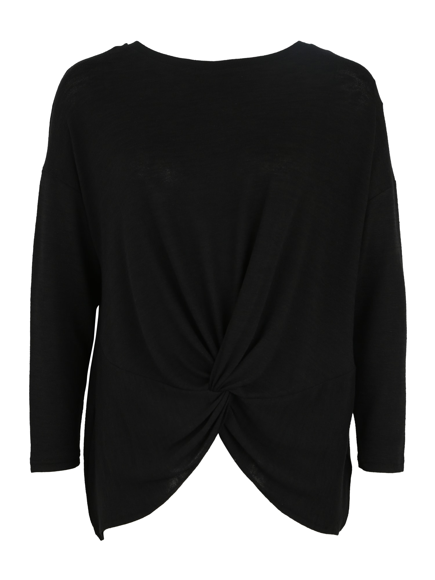 Tričko černá New Look Curves