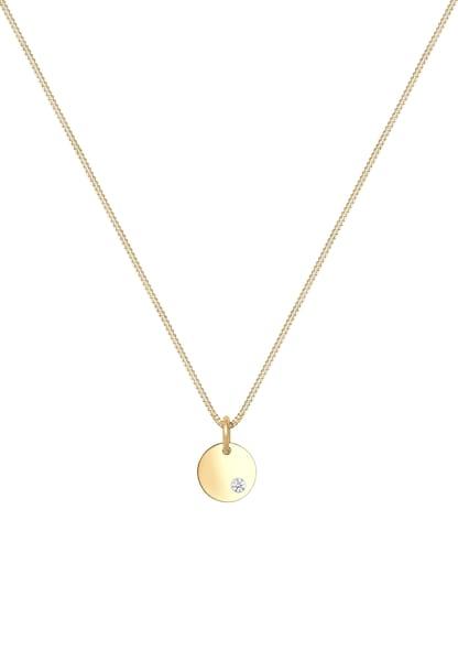 Ketten für Frauen - ELLI Halskette 'Geo' gold  - Onlineshop ABOUT YOU