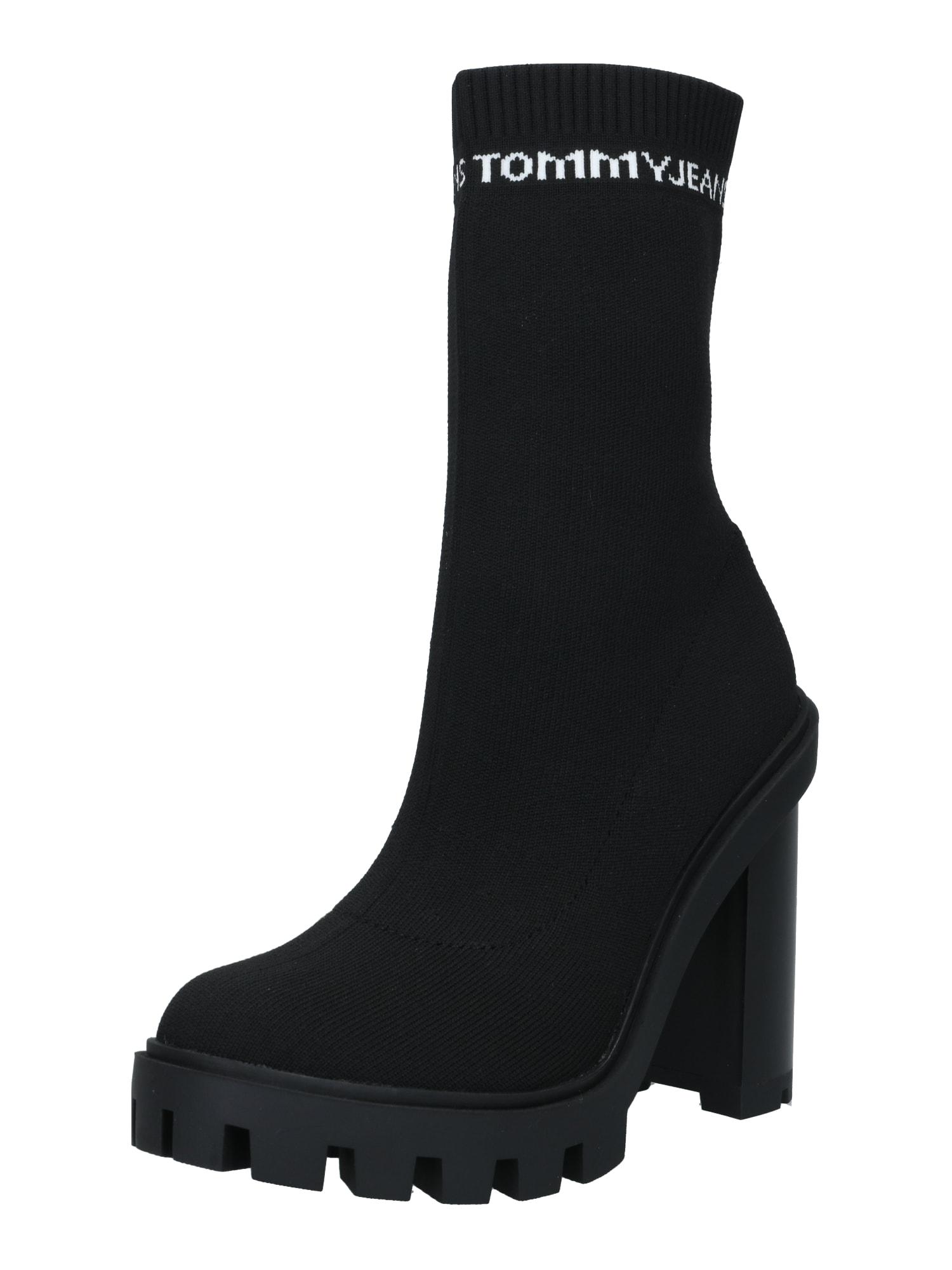 Tommy Jeans Aulinukai juoda / balta