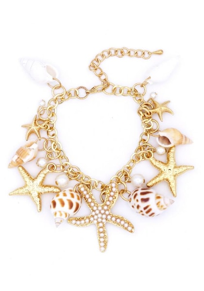 Armbaender - Armband › J. Jayz › braun dunkelbraun gold perlweiß  - Onlineshop ABOUT YOU