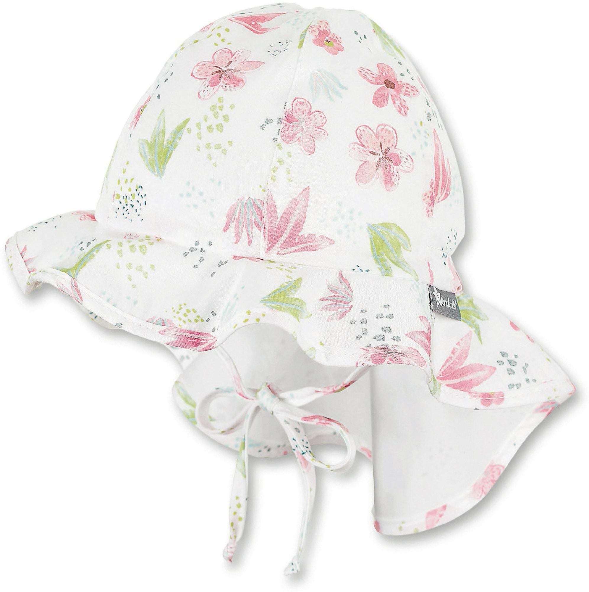 STERNTALER Skrybėlaitė balta / žalia / rožinė