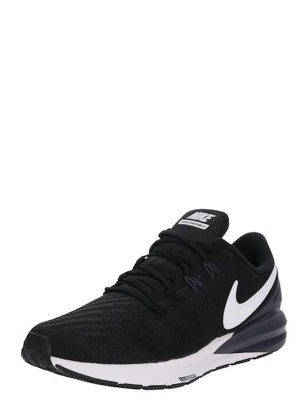 Sportschuhe für Frauen - NIKE Laufschuhe 'Nike Air Zoom Structure 22' schwarz weiß  - Onlineshop ABOUT YOU