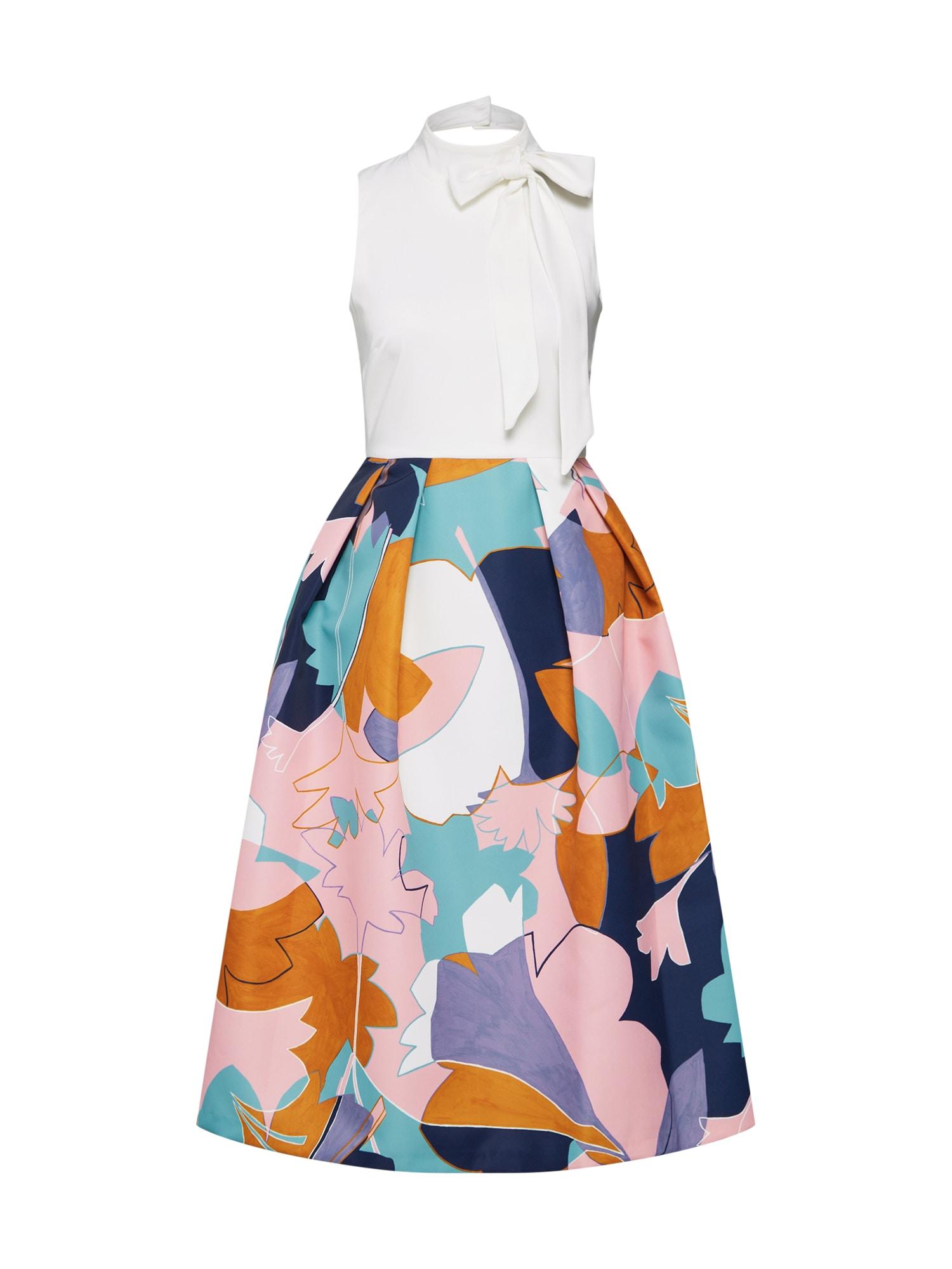 Pouzdrové šaty růžová bílá Closet London