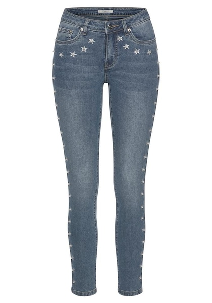 Hosen für Frauen - Ankle Jeans › Tom Tailor Polo Team › blue denim  - Onlineshop ABOUT YOU