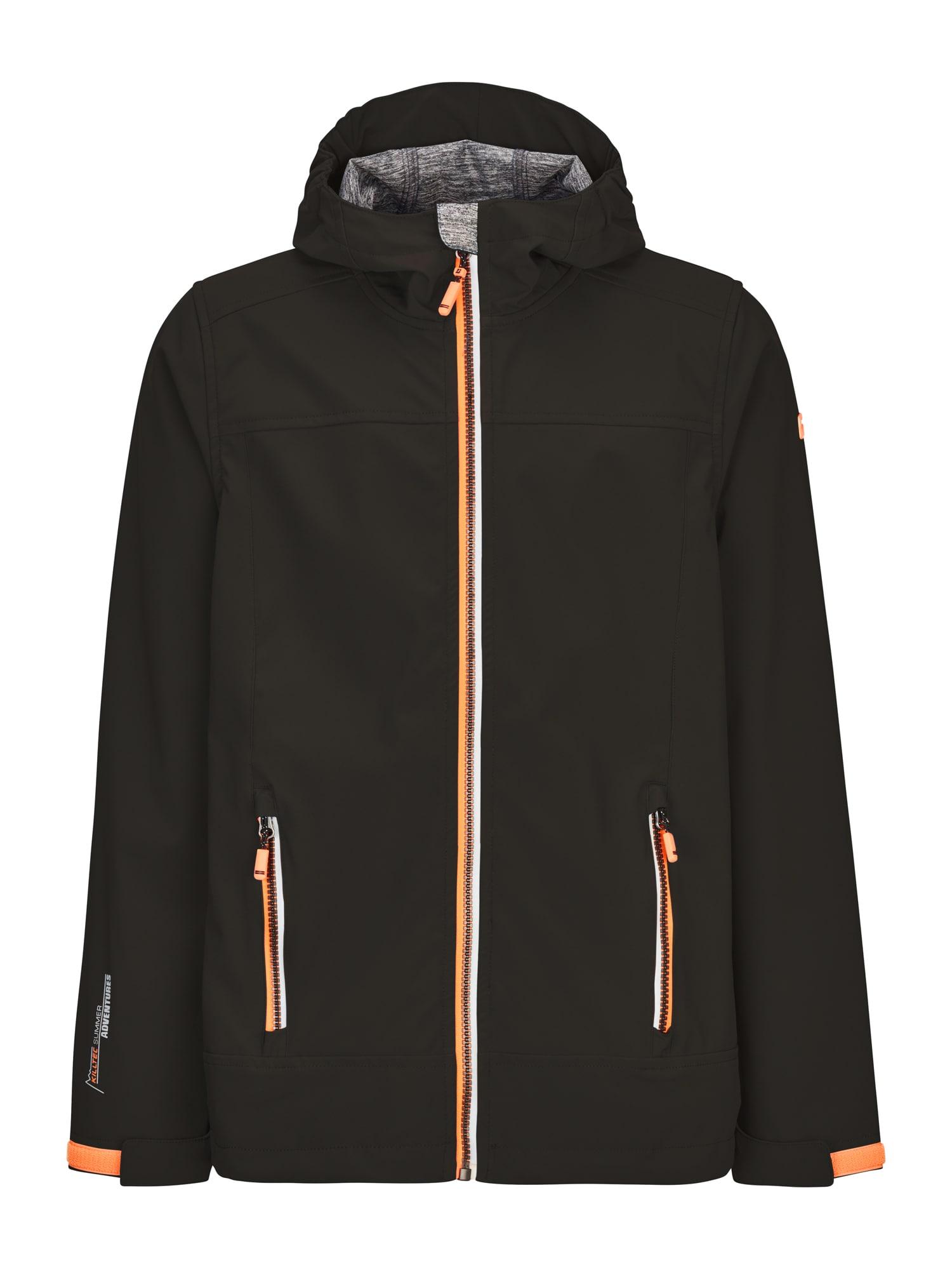 KILLTEC Prechodná bunda  čierna