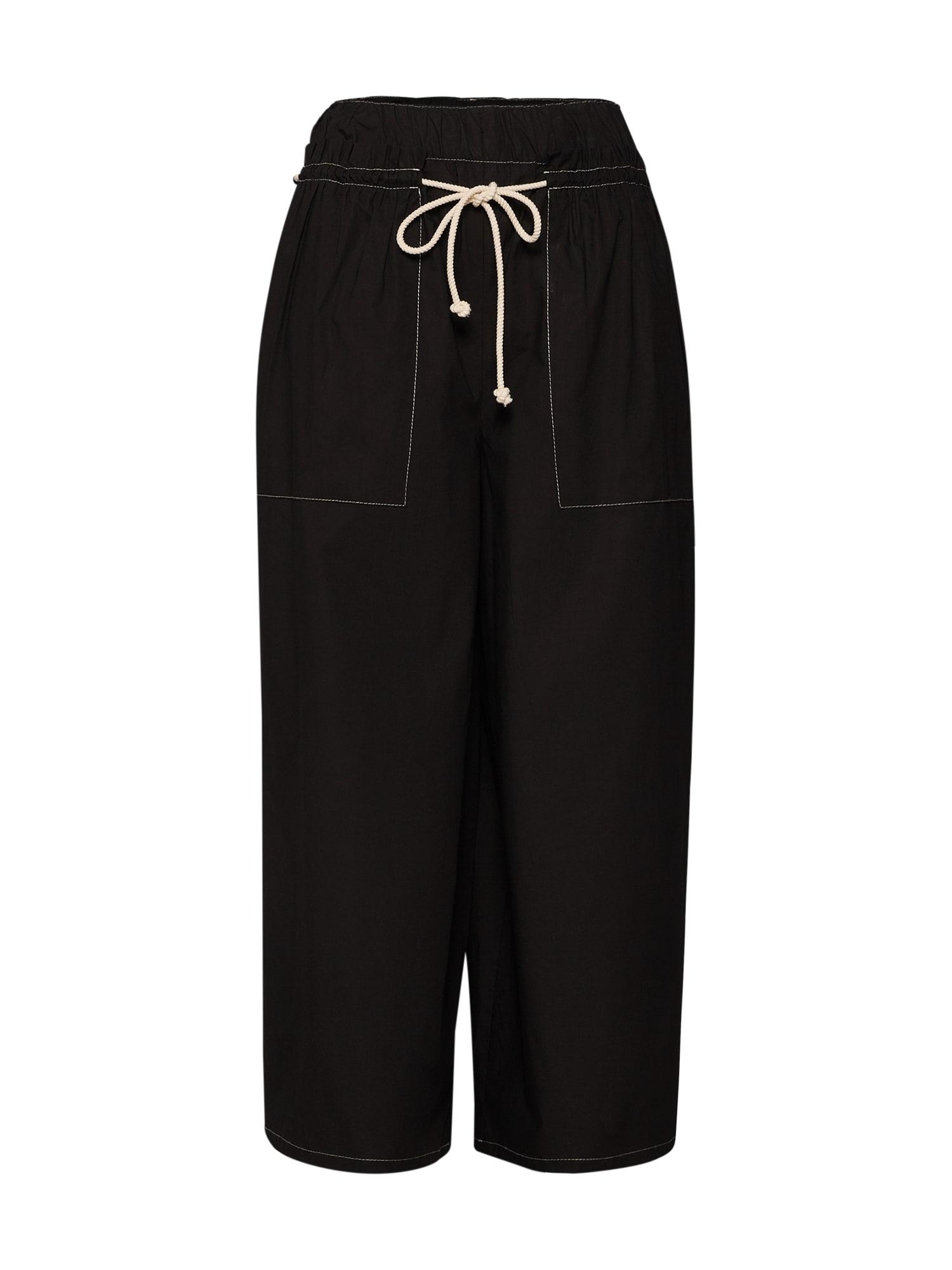 Kalhoty MANY černá DRYKORN