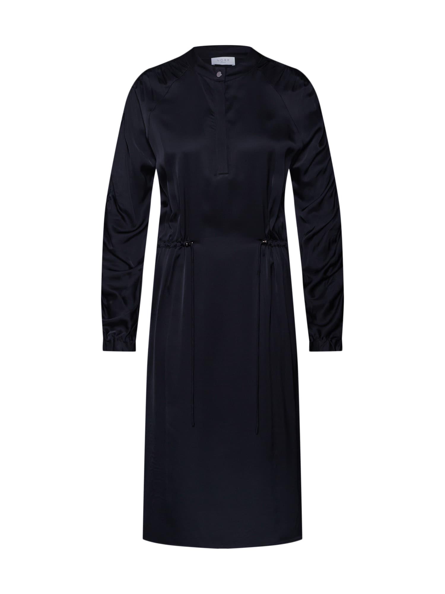 NORR Košilové šaty 'Brielle'  černá