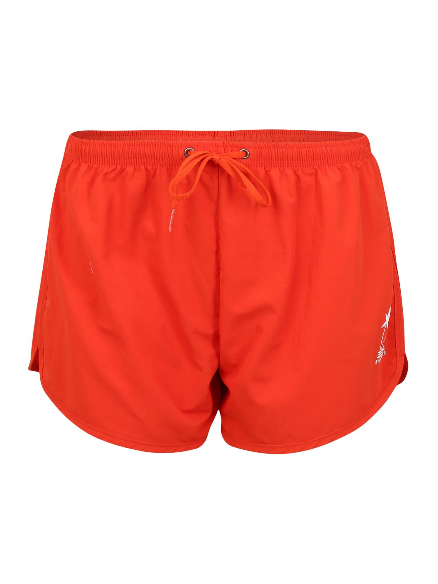 BILLABONG Maudymosi šortai 'good time' oranžinė-raudona