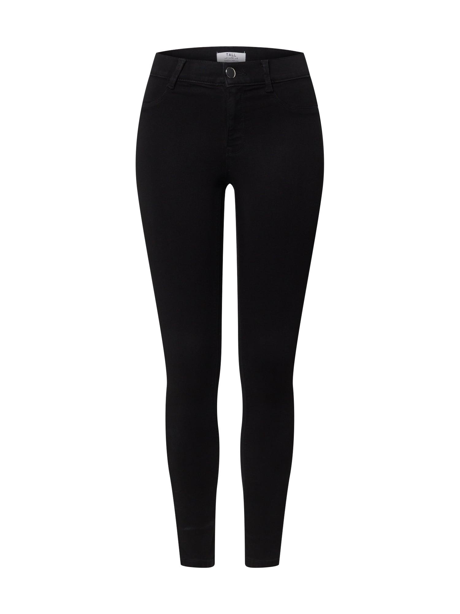 Dorothy Perkins (Tall) Džínsy 'Tall Frankie Jeans'  čierna