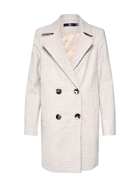 Jacken - Mantel 'NEUTRAL CHECK DB COAT' › Missguided › sand  - Onlineshop ABOUT YOU