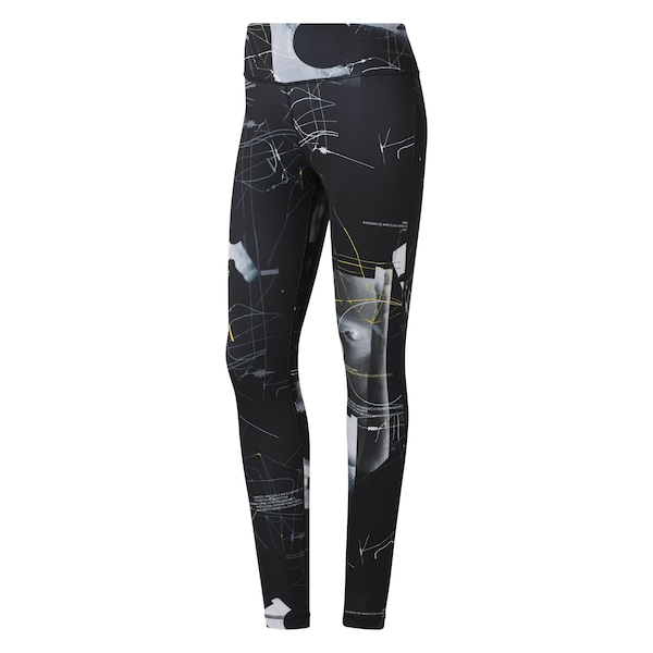 Hosen für Frauen - Sporthose 'Workout Ready' › Reebok › hellgrau schwarz  - Onlineshop ABOUT YOU