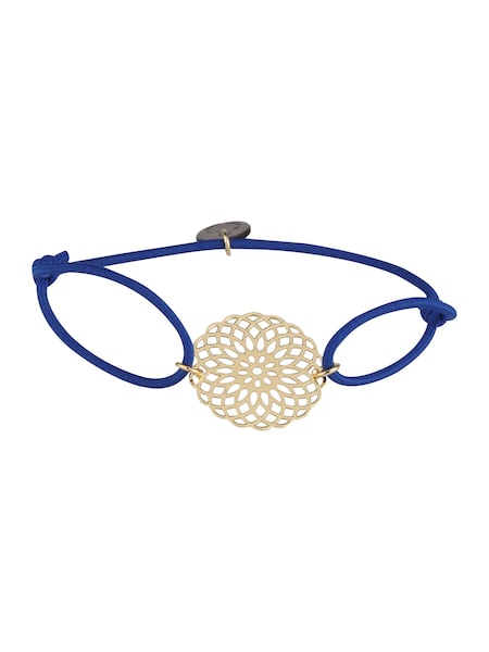 Armbaender für Frauen - Lua Accessories Armschmuck 'Sun Gold' blau gold  - Onlineshop ABOUT YOU