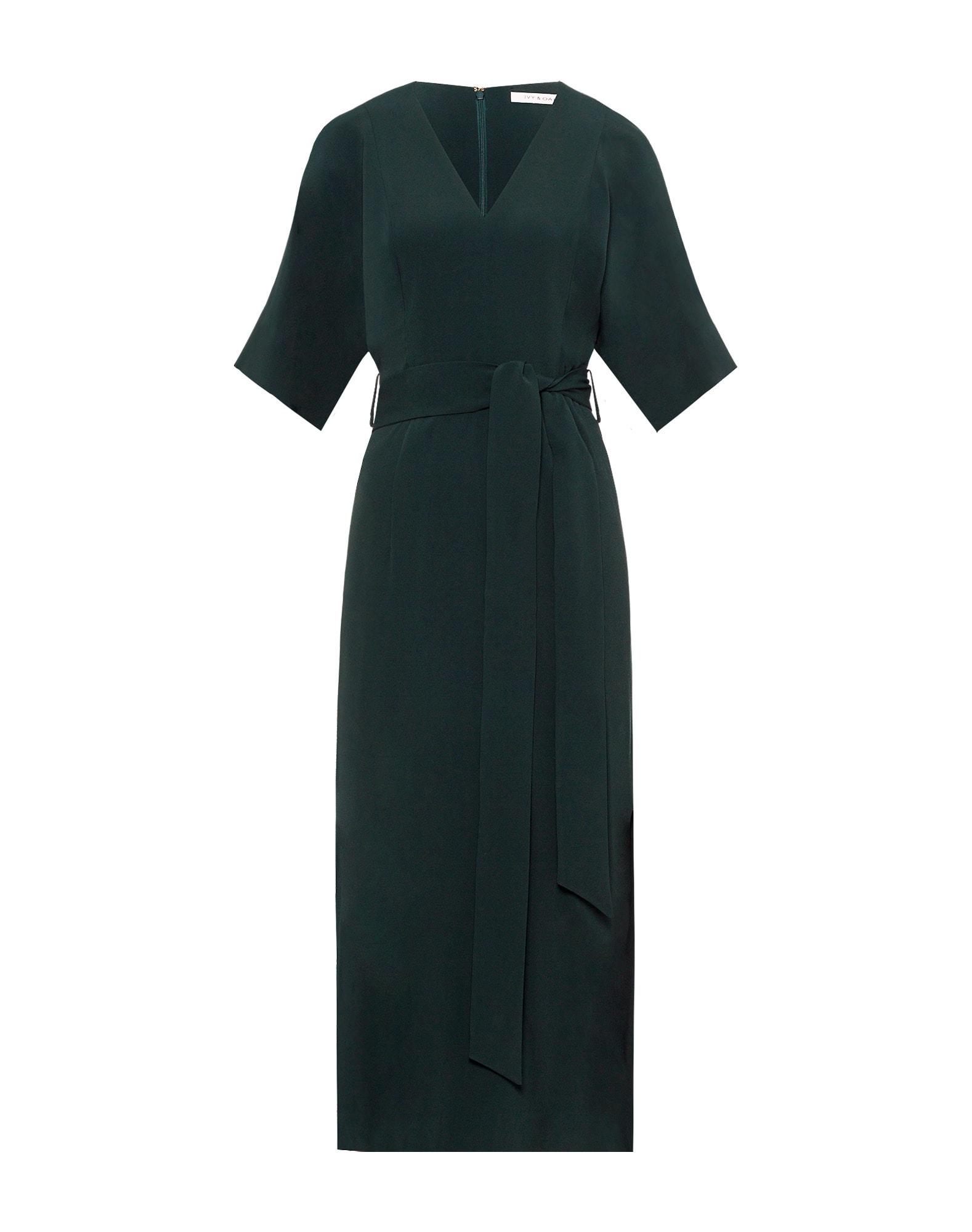 IVY & OAK Kokteilinė suknelė smaragdinė spalva