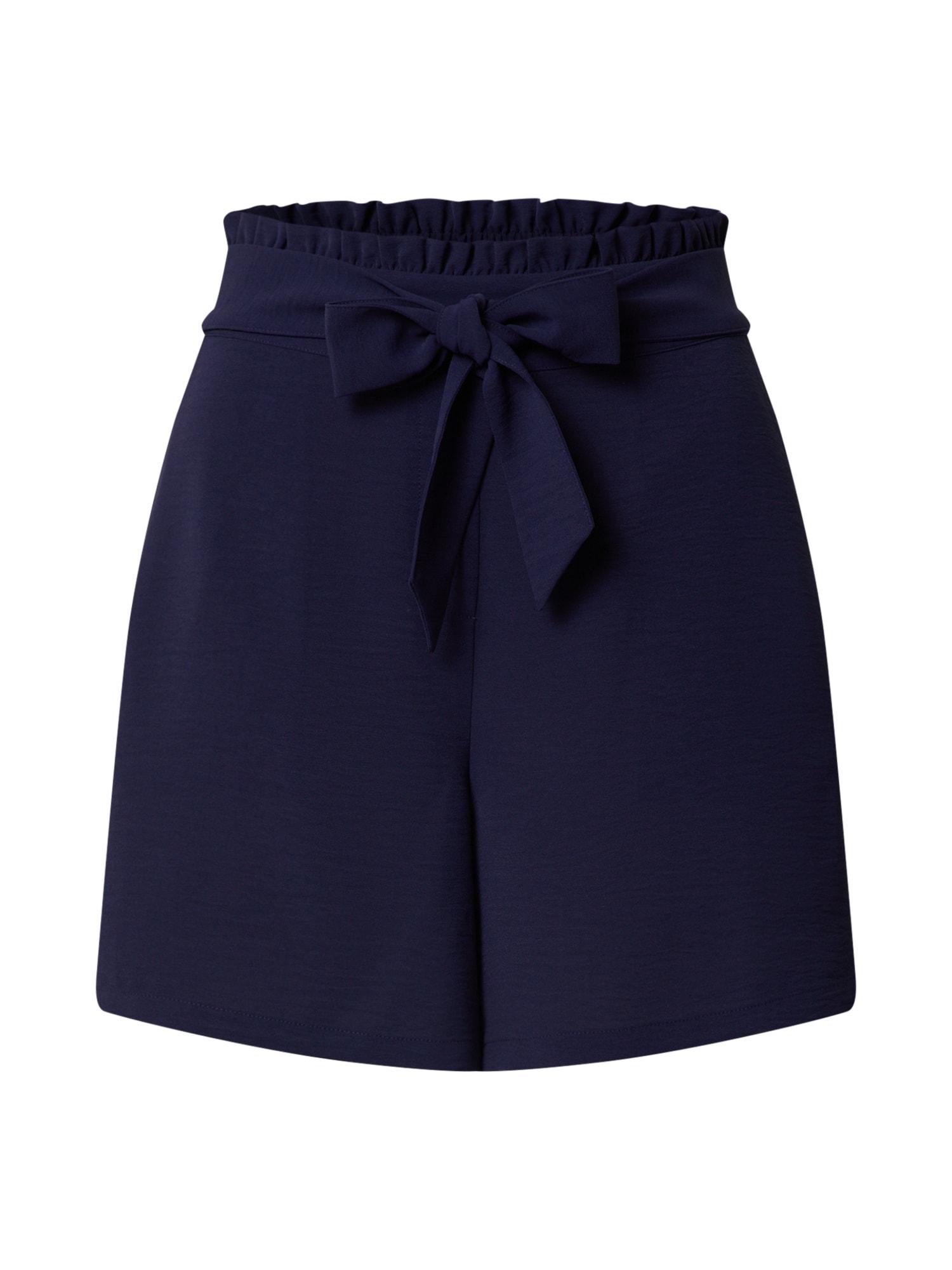 ABOUT YOU Klostuotos kelnės 'Sana' tamsiai mėlyna