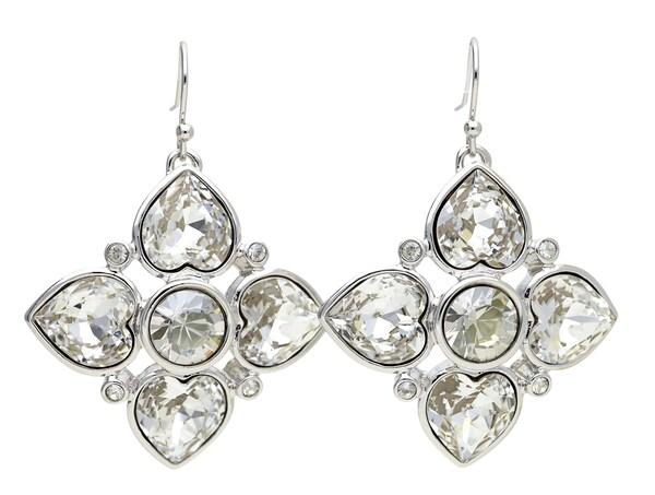 Ohrringe für Frauen - GUESS Ohrhänger 'UBE91106' silber  - Onlineshop ABOUT YOU