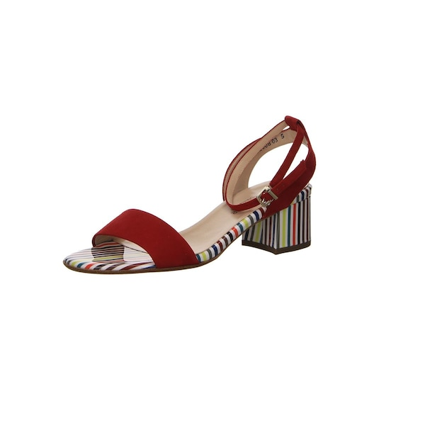 Sandalen für Frauen - PETER KAISER Sandalen mischfarben kirschrot  - Onlineshop ABOUT YOU