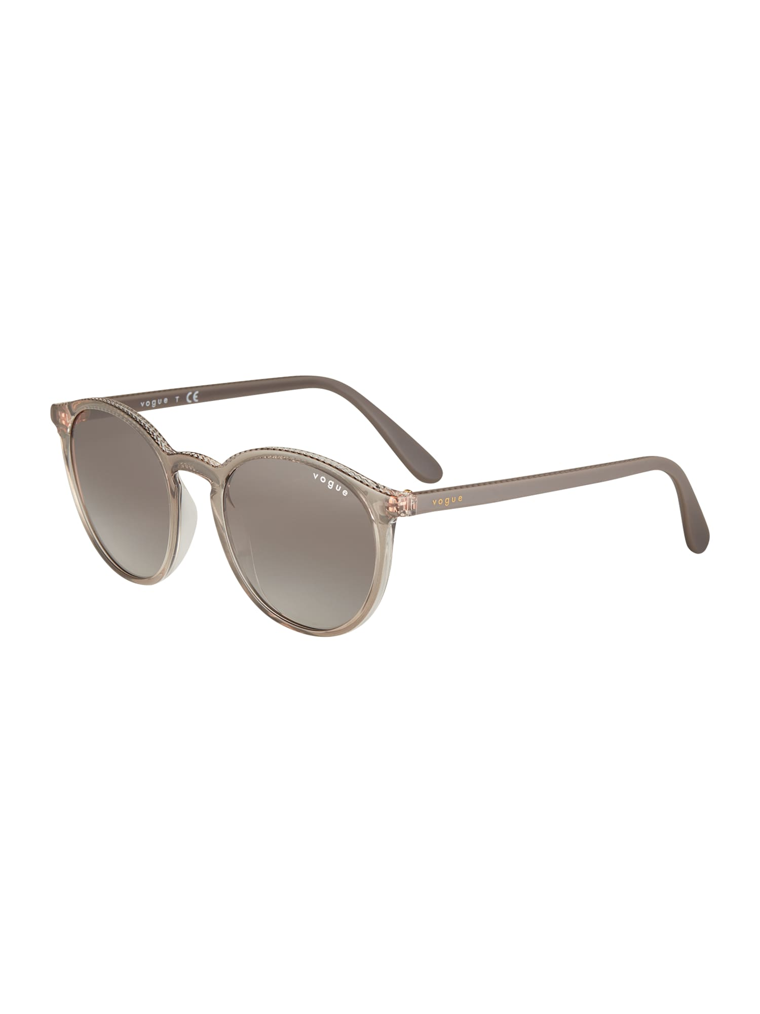 VOGUE Eyewear Slnečné okuliare  priehľadná / sivá
