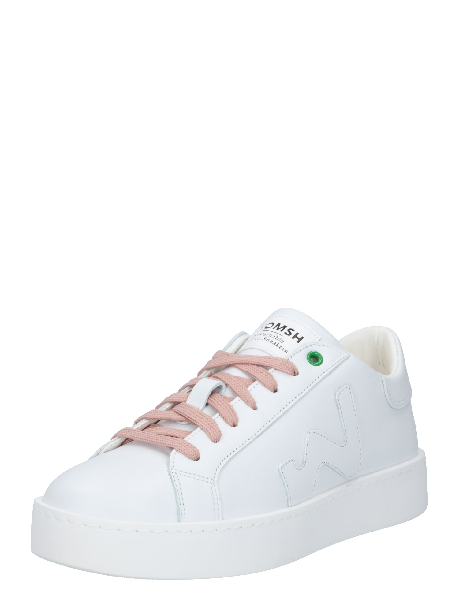WOMSH Nízke tenisky 'Concept'  biela / rosé