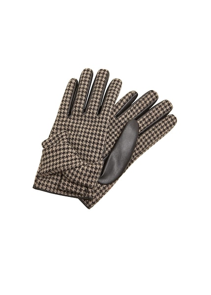 Handschuhe für Frauen - MANGO Handschuhe 'Femme' dunkelbraun greige  - Onlineshop ABOUT YOU