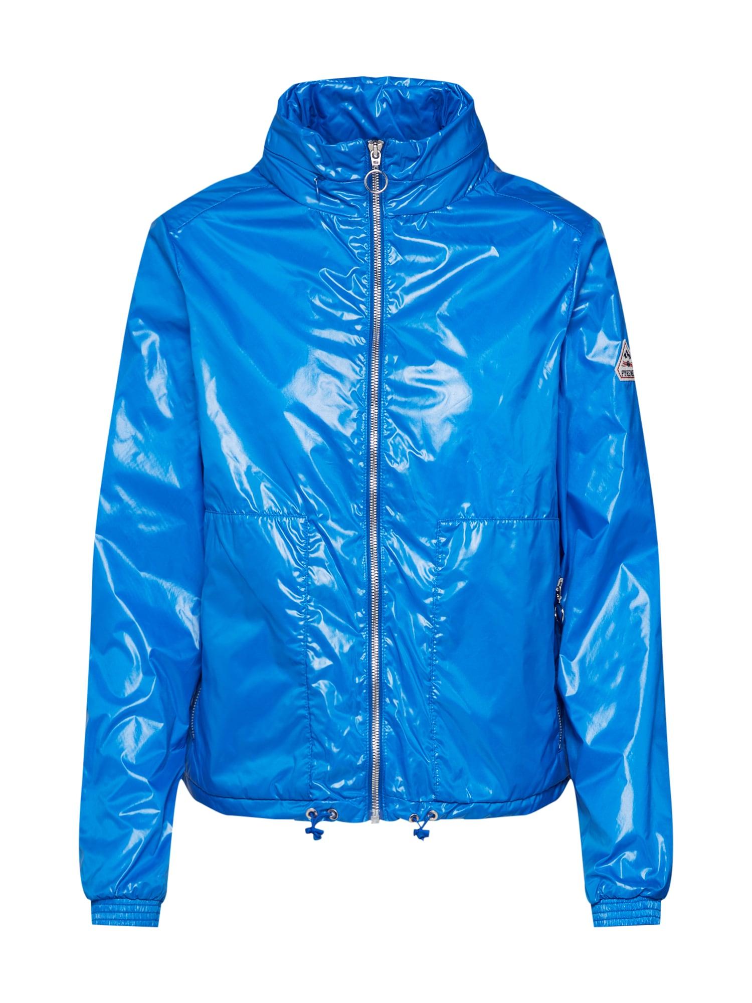 Přechodná bunda Ernsta modrá PYRENEX