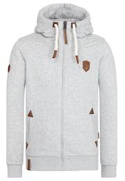 Naketano Herren Zipped Jacket grau | 04049502832043